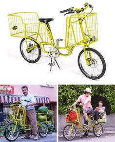 Camioncyclette was designed to carry loads of up to 150 kg. [link]