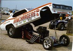 Ramchargers funny car.