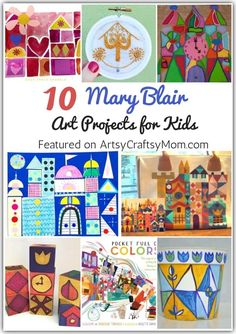 Learn more about Mary Blair, the artist behind many Disney classics like Cinderella, with the help of some magical Mary Blair Art Projects for Kids! Mary Blair, Disney Kunst, Disney Art, Art Doodle, Ecole Art, Art Curriculum, Art Lessons Elementary, Projects For Kids, Class Art Projects
