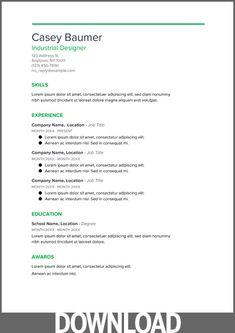 google-doc-resume-cv04