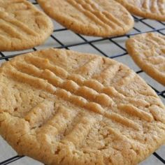 Quick Peanut Butter Cookies - Allrecipes.com