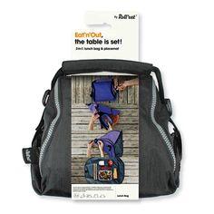 El porta tuppers todo en uno: bolsa + mantel! Soluciones creativas e innovadoras a los graves problemas medioambientales existentes en la actualidad, en forma de nuevos productos. Tu bolsa-mantel. Por un lado, es un porta tuppers para llevar tu comida. Conserva la temperatura, es flexible, plegable, tiene asas y un bolsillo inte Y, al abrir completamente su cremallera, se convierte en un mantel. Vinçon: 30.65€