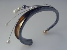 Anticlastic Raising Jewelry   Bracelets made of 24kt and sterling bi metal.Anticlastic Raising is a ...