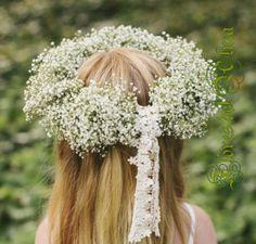 Tocados niñas - Flores del Alma - Floristería artesanal
