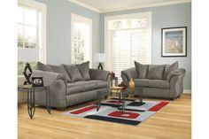 Darcy Sofa | Ashley Furniture HomeStore Living Room Sets, Living Room Furniture, Living Room Decor, American Sofa, Sofa And Loveseat Set, Sleeper Sofa, Cool Couches, Chula, Comfortable Sofa