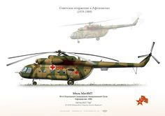 "CCCP . SOVIET UNION RED ARMY Mi-8MT ""red 99""  50 OSAPAfghanistan…"