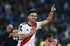 Pity Martinez named 2018 South American Player of the Year Santiago Bernabeu, Atlanta, Soccer, Running, American, News, Instagram, Mens Tops, Carrera