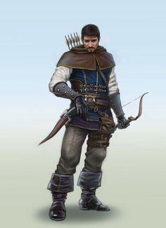 m Ranger lite armor Longbow Sword lwlvl