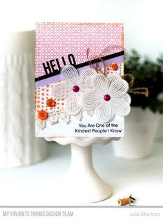 Kind Hello Card by J