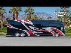 Marathon Coach 2015 Show Coach #1219, Prevost H3-45 Double Slide - YouTube