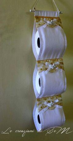 Portarotoli da bagno con gessetti profumati. Le creazioni di SeM