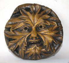 Green Man Reproduction Carving English Heritage Medieval Antique Hand Made Gift | eBay