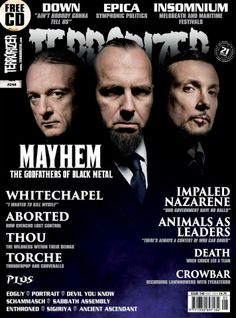 Pick up the latest issue of Terrorizer! COLDWAR DUBLIN 'Pantheist' reviewed!