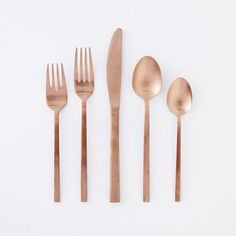 Copper Flatware, 20 Piece Set $140