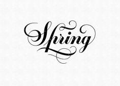 Spring by Ksenia Belobrova, via Behance