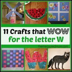 Letter W crafts - The Measured Mom