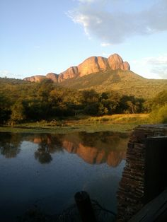 Waterhole at the Tlopi Tented Camp, Marakele National Park, Waterberg, Limpopo in South Africa!