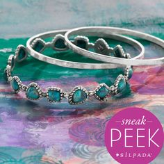 Check out a sneak peek of our new #jewelry coming January 15th! #SilpadaStyle