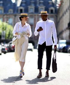 boater hat outfit - Google Search