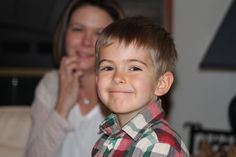 My nephew Logan --- His Mom in the background.  I thought this was a great shot.