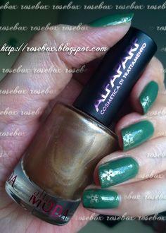 Oi pessoal! Hoje estou de unhas verdes, não é das minhas cores preferidas, mas desse verde gostei!         Primeiro passei duas camadas do ...