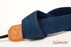 Kameragurt-Kameraband -Jeans von FLINTHOLM   auf DaWanda.com