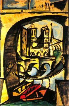Pablo Picasso - Notre-Dame et Pont-Neuf