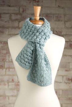 ... Knitting Patterns (Knit and Crochet Now!) on Pinterest Scarf knit