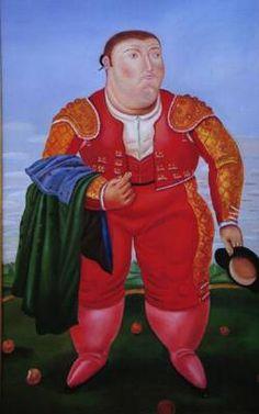 Fernando Botero : The Bullfighter