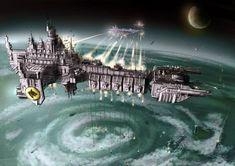 Wh40K: Battle Barge - Battlefleet Gothic