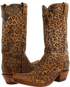 Leopard cowboy bootsMerry Christmas to me!!!!