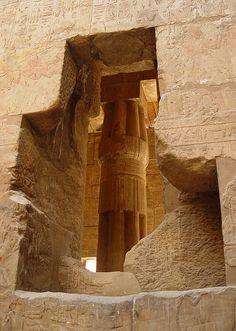 Temple de Louxor, Égypte.