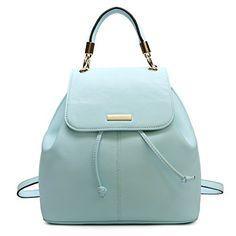 Landz Women Bags PU Leather Candy Color Handbag Shoulder…