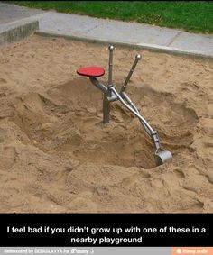 One of the best parts of a playground...