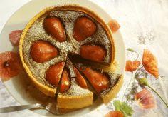 Mohn-Birnenkuchen