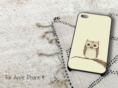 Cute Owl Birds iPhone 4 iPhone 4S Case by gardenpiano on Etsy, $15.79
