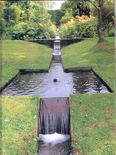 Shute House Gardens, Shaftesbury, Dorset designed by Jellicoe