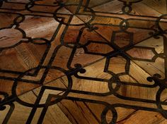 wood floor - look at the color depth!