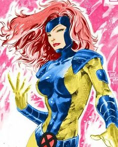 Marvel Girl (Jean Grey) by Phillip Tan Marvel Comics, Heros Comics, Marvel Fan, Marvel Heroes, Marvel Women, Marvel Girls, Comics Girls, Comic Movies, Comic Book Characters