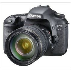 Canon EOS 7D 18.0MP Digital SLR Camera w/ 28-135mm Lens