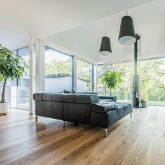 Create a healthy living atmosphere with plenty of light, natural materials and beautiful greens. Timber Windows, Upvc Windows, Aluminium Windows, Sash Windows, Windows And Doors, Laminated Glass, Solar Shades, Roof Tiles, Window Styles
