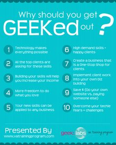 Top 10 Reasons to Become a Techie VA http://bit.ly/HLlJlH