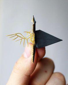 Cristian Marianciuc is an artist of origami! Mógłbyś się pobawić w origami. Origami Love Heart, Origami Star Box, Origami Fish, Origami Cranes, Fun Origami, Origami Folding, Paper Folding, Kirigami, Origami Design