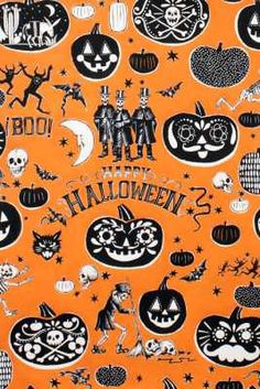 Alexander Henry Halloween 2014  Crafty Calaveras by overrainbow, $9.99