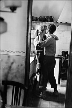 Elliott Erwitt Portrait Photograph - Spain, Valencia (Dancing Couple)
