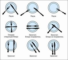 Flatware messages to waitstaff. Dining Etiquette, Etiquette And Manners, Table Manners, Dinner Table, Holidays And Events, Good To Know, Helpful Hints, Life Hacks, Table Settings