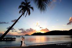 Destination Wedding at Carlisle Bay Antigua | www.vanessahallphotography.com