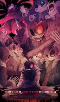 Embedded -->Oh my gosh, I'm pretty sure this is the first time I've seen someone make fanart for Horror!Sans using scenes from the official comic! Anime Undertale, Undertale Memes, Undertale Ships, Undertale Drawings, Undertale Cute, Frisk, Horror Sans, Fan Art Anime, Undertale Pictures
