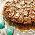 Bananas Foster Upside-Down Cake Recipe | MyRecipes.com ~ (Can add 2 Tblsp. Of Lemon Juice To Bananas After Slicing , And Before Using In Recipes- Keeps Bananas From Turning Brown After Baking)