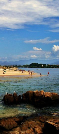 Beaches in Santa Catarina, BRAZIL